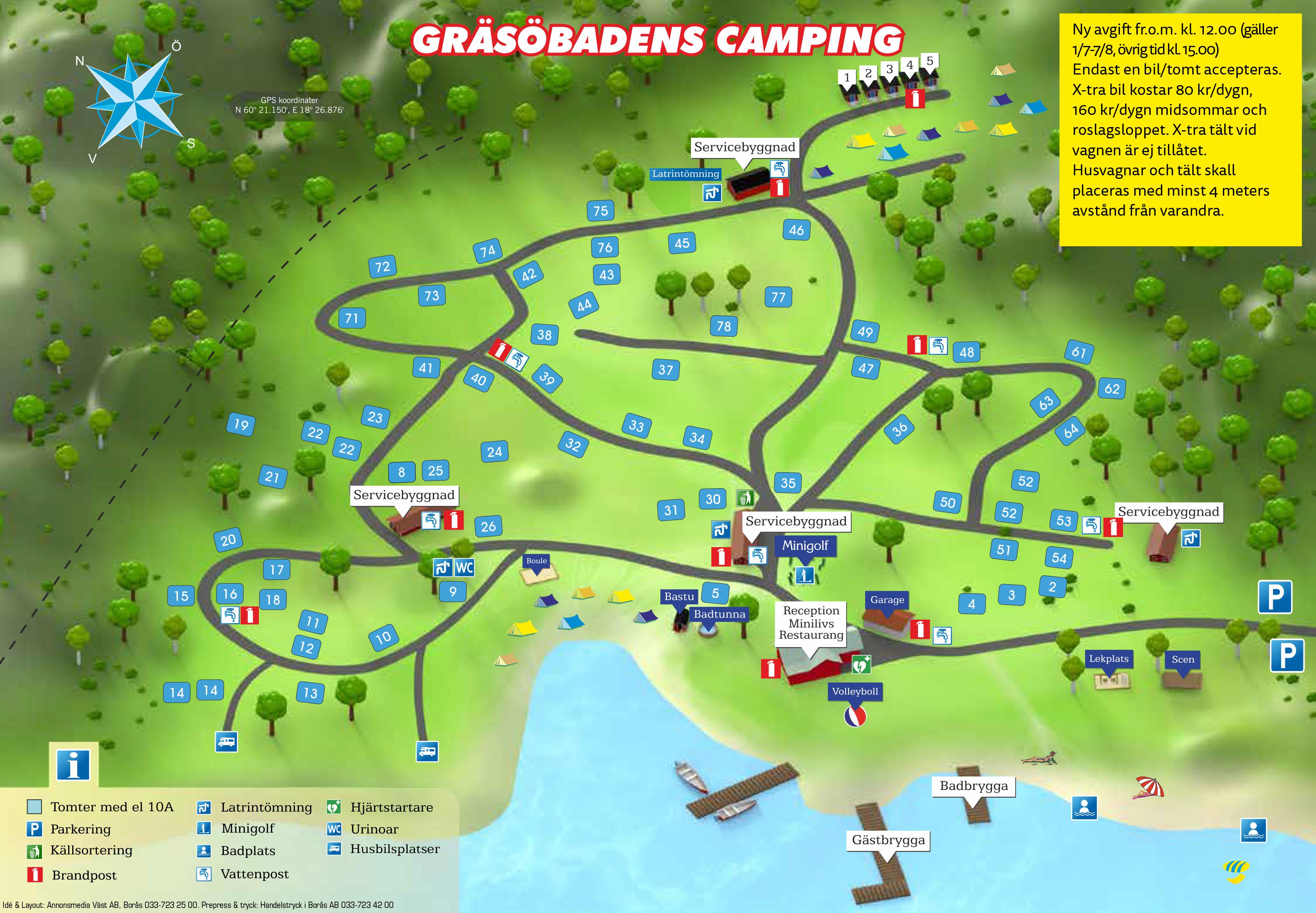 gräsö karta Information   Gräsöbadens Camping gräsö karta